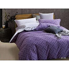 Постельное белье Cleo КПБ Сатин печатный 483 (2 спальный) постельное белье cleo satin lux 20 070 sl комплект 2 спальный сатин