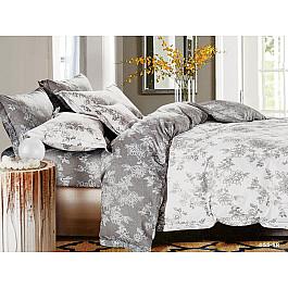 Постельное белье Cleo КПБ Сатин реактивный 055 (2 спальный) постельное белье cleo satin lux 20 070 sl комплект 2 спальный сатин