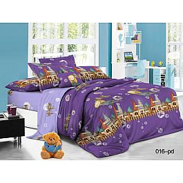 Постельное белье Cleo КПБ Поплин детский Волшебный замок (1.5 спальный) цена