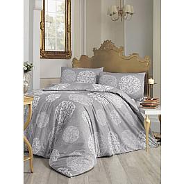 цена на Постельное белье Altinbasak Комплект постельного белья RANFORCE BELLO (2 спальный), серый