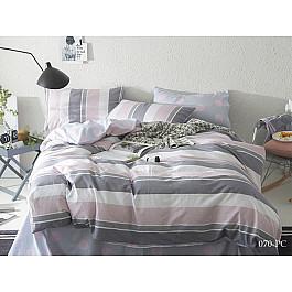 Постельное белье Cleo КПБ Поплин Pure cotton 070 (2 спальный) постельное белье cleo satin lux 20 070 sl комплект 2 спальный сатин