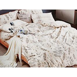 Постельное белье Cleo КПБ Сатин реактивный 056 (2 спальный) постельное белье cleo satin lux 20 070 sl комплект 2 спальный сатин