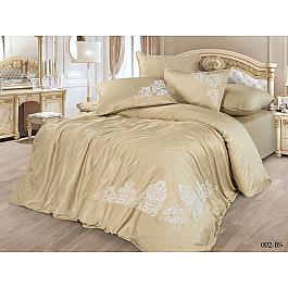 Постельное белье Cleo КПБ Сатин Бамбук с вышивкой дизайн 002 (Евро) цена