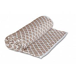 Покрывало Cleo Покрывало Cleo Жаккард дизайн 010 бежевый, 180*210 см цена