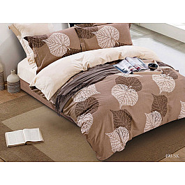 Постельное белье Cleo КПБ Сатин печатный 490 (2 спальный) постельное белье cleo satin lux 20 070 sl комплект 2 спальный сатин