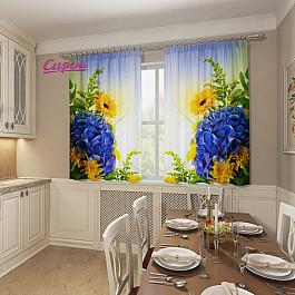 Фотоштора Сирень Фотошторы для кухни Нежная гортензия eglo leonie 92129