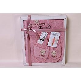 Фото - Комплект для сауны Karna Комплект для сауны женский KARNA PARIS, грязно-розовый сауны
