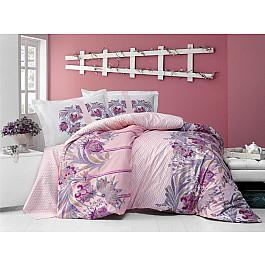 Постельное белье Altinbasak КПБ RANFORCE NEON SELVA (Евро), розовый постельное белье altinbasak кпб ranforce neon karel евро розовый
