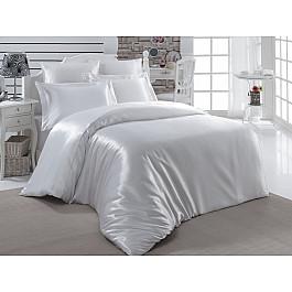 цена Постельное белье Karna Комплект постельного белья шелк KARNA ARIN 50x70*2 70x70*2 (2 спальный), белый онлайн в 2017 году
