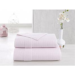 Полотенца Karna Полотенце микрокотон двухсторонний TRUVA, светло-розовый, 90*150 см светло фиолетовый 90