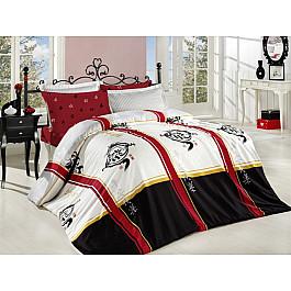 цена на Постельное белье Altinbasak Комплект постельного белья ALTINBASAK DRAGON Сатин (2 спальный), красный