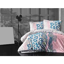 Постельное белье Altinbasak КПБ RANFORCE NEON HUELLA (Евро), розовый постельное белье altinbasak кпб ranforce neon karel евро розовый