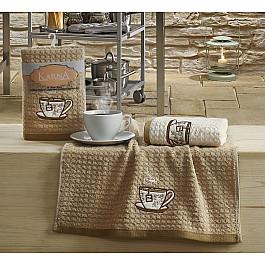цена Наборы полотенец для кухни Karna Набор кухонных полотенец