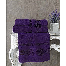 Полотенца Karna Полотенце махровое KARNA REBEKA, фиолетовый, 70*140 cм полотенце махровое karna rebeka 70x140 см 1 1