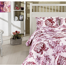 Комплект постельного белья ALTINBASAK LUISA (2 спальный), бордовый