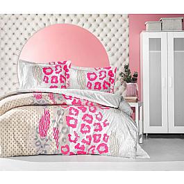 Постельное белье Altinbasak КПБ RANFORCE NEON HUELLA (Евро), кремовый постельное белье altinbasak кпб ranforce neon karel евро розовый