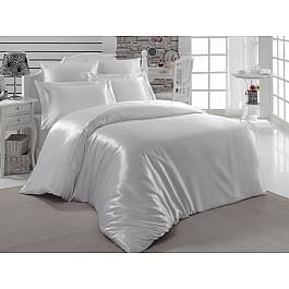цена Постельное белье Karna Комплект постельного белья шелк KARNA ARIN (2 спальный), белый онлайн в 2017 году