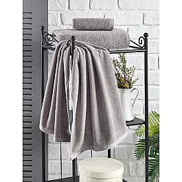 Наборы полотенец для кухни Karna Полотенце кухонное махровое KARNA EFOR, серый, 40*60 см soft space