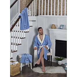 цена на Халат махровый Karna Халат махровый унисекс с полотенцем