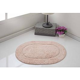 Коврик для ванной Karna Коврик для ванной овальный MODALIN GALYA, пудра, 45*65 см коврик для ванной karna modalin galya цвет ментоловый 45 х 65 см