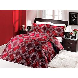 Комплект постельного белья ALTINBASAK EXCLUSIVE Сатин (2 спальный), бордовый