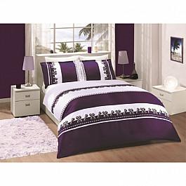 Комплект постельного белья ALTINBASAK DUPONT Сатин (2 спальный), фиолетовый