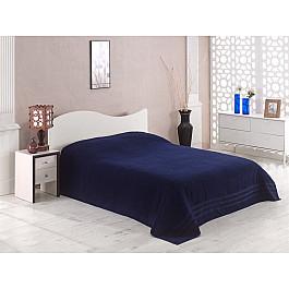 Простыни Karna Простынь махровая KARNA PETEK, синий, 200*220 см цена