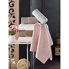 Полотенца DO&CO Комплект махровых полотенец DO&CO OLIMPOS, 50*90 см - 6 шт цена