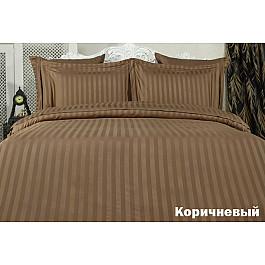 Постельное белье Karna Комплект постельного белья KARNA PERLA Бамбук (2 спальный), коричневый цена