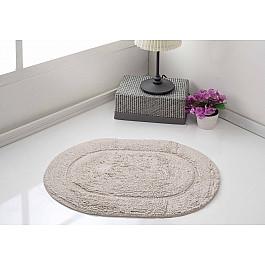 Коврик для ванной Karna Коврик для ванной овальный MODALIN GALYA, бежевый, 45*65 см коврик для ванной karna modalin galya цвет ментоловый 45 х 65 см