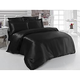 цена Постельное белье Karna Комплект постельного белья шелк KARNA ARIN 50x70*2 70x70*2 (2 спальный), черный онлайн в 2017 году