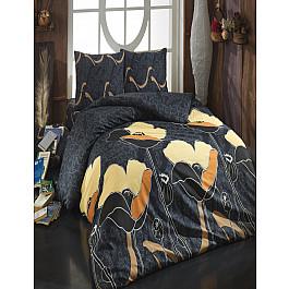 Постельное белье Cotton Life КПБ Cotton Life Juliet (70*70/2 шт), коричневый ( 1.5 спальный) juliet landon slave princess