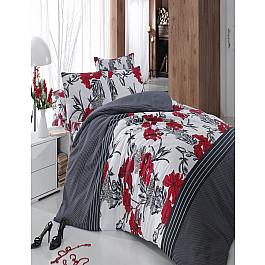 Постельное белье Cotton Life КПБ Cotton Life Aliza (70*70/2 шт), красный ( 1.5 спальный) цена