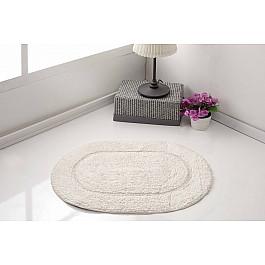 Коврик для ванной Karna Коврик для ванной овальный MODALIN GALYA, кремовый, 45*65 см коврик для ванной karna modalin galya цвет ментоловый 45 х 65 см