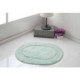 Коврик для ванной Karna Коврик для ванной овальный MODALIN GALYA, ментол, 45*65 см коврик для ванной karna modalin galya цвет ментоловый 45 х 65 см