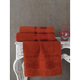 Полотенца Karna Полотенце махровое KARNA REBEKA, кирпичный, 70*140 cм полотенце махровое karna rebeka 70x140 см 1 1