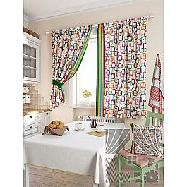 купить Шторы для кухни TomDom Комплект штор
