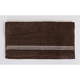 Наборы полотенец для кухни Karna Салфетка махровая KARNA PETEK, коричневый, 30*30 см цена
