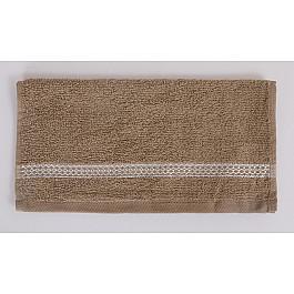 Наборы полотенец для кухни Karna Салфетка махровая KARNA PETEK, кофейный, 30*30 см цена