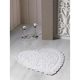 Коврик для ванной Modalin Коврик для ванной кружевной MODALIN SISLEY, кремовый, 60*65 см коврик для ванной karna modalin galya цвет ментоловый 45 х 65 см