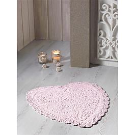 Коврик для ванной Modalin Коврик для ванной кружевной MODALIN SISLEY, абрикосовый, 60*65 см коврик для ванной karna modalin galya цвет ментоловый 45 х 65 см