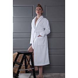 Халат махровый Karna Халат микрокотон женский KARNA BONAR, белый, р. 2XL (54-56) халат женский marusя цвет бордовый 17110220 размер xxxxl 56