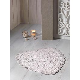 Коврик для ванной Modalin Коврик для ванной кружевной MODALIN SISLEY, кофейный, 60*65 см коврик для ванной karna modalin galya цвет ментоловый 45 х 65 см