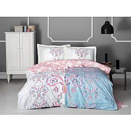 Постельное белье Altinbasak КПБ RANFORCE NEON MONALIZA (Евро), ментол постельное белье altinbasak кпб ranforce neon karel евро розовый