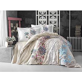 Постельное белье Altinbasak КПБ RANFORCE NEON ESMERALDA (Евро), кремовый постельное белье altinbasak кпб ranforce neon karel евро розовый