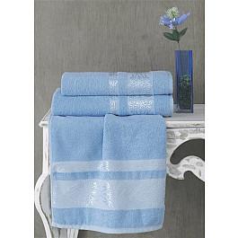 Полотенца Karna Полотенце махровое KARNA REBEKA, голубой, 70*140 cм полотенце махровое karna rebeka 70x140 см 1 1