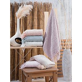 Полотенца DO&CO Комплект махровых полотенец DO&CO MARINA, 50*90 см - 6 шт цена