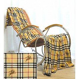 Плед Tango Плед Микрофибер №044, желтый, черный, 200*220 см плед tango arcobaleno цвет желтый 200 х 220 см