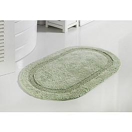 Коврик для ванной Modalin Коврик для ванной кружевной MODALIN RACET, светло-зеленый, 60*100 см поддон для балконного ящика ingreen цвет зеленый длина 60 см