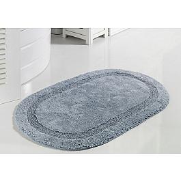 Коврик для ванной Modalin Коврик для ванной кружевной MODALIN RACET, голубой, 60*100 см primanova alize коврик для ванной 60 100 2 пр акриловый